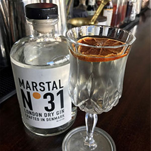 Marstal No. 31 - White negroni sour